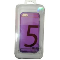 Mo si deng back cover - for Iphone 5 - purple color
