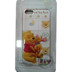 Mo si deng mobile back cover - for Iphone 5 - Pooh Bear