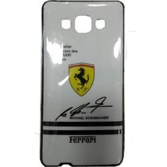 Ferrari mobile back cover - for samsung A5- with schummacher sign