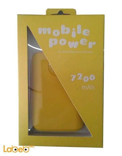 Ebai Power bank 7200mAh Yellow