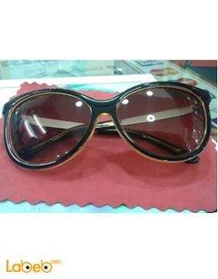 نظارات شمسية برادا - تقليد 1 - اطار اسود - عدسة بنية - D1277/S