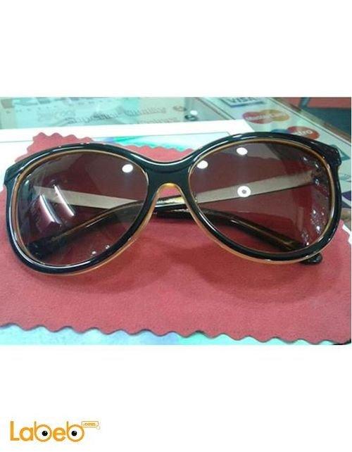 Copy Prada sunglasses Black frame Brown lenses D1277/S