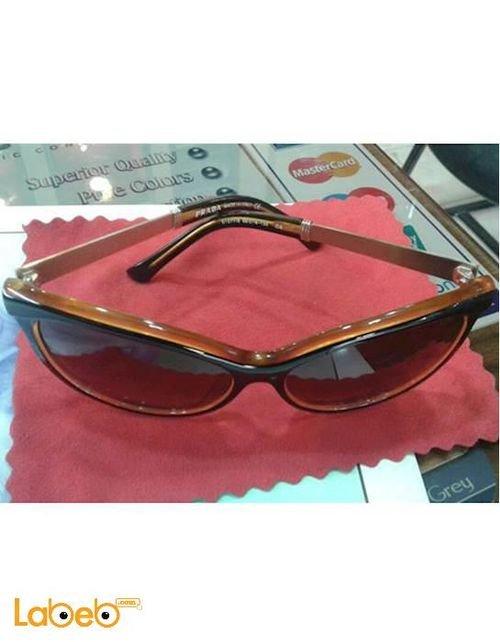 Copy Prada sunglasses Black frame Brown lens D1277/S