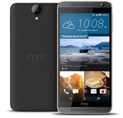 HTC One E9 plus smartphone - 32GB - 20MP - 5.5inch - black color