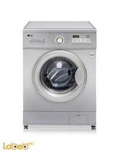 LG Front Load Washer - 7kg - digital - Silver - F10B8QDP5