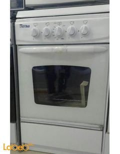 Union Tech 4 burners Gas Oven - 55x55cm - white - C5555SS-191-L