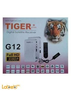 Tiger receiver G12 HD1080P - WIFI - USB - 4000 channels memory