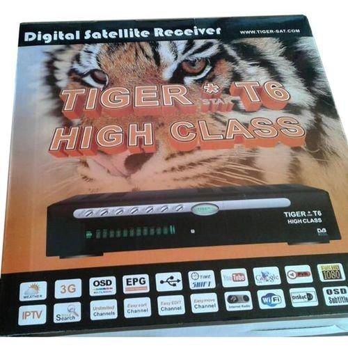 رسيفر تايجر T6 high class كامل الوضوح HD 1080P واي فاي