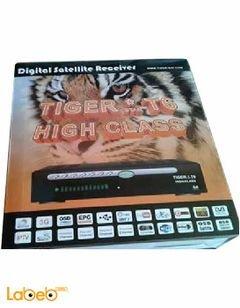رسيفر تايجر T6 high class - كامل الوضوح HD 1080P - واي فاي - USB