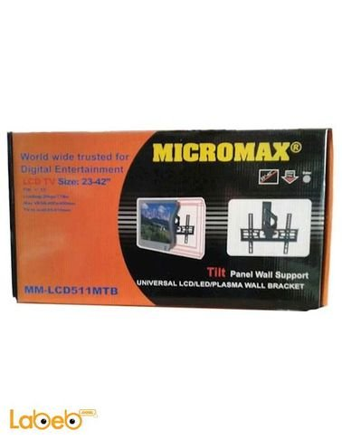 حاملة شاشات lcd micromax - حجم 23-42 انش - 35 كيلو - mm-lcd511mtb