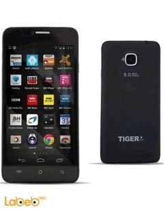 Tiger S52 smartphone - 8GB - 5inch - Black color