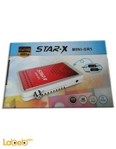 Star-x Mini SR1 Receiver - 6000 channel - fULL HD - 1080P