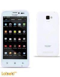 موبايل تايجر S45 ذاكرة 4 جيجابايت 4.5 انش ابيض Tiger S45