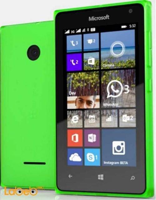 موبايل مايكروسوفت لوميا 532 8 جيجابايت دوال سيم اخضر