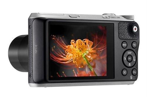 كاميرا سامسونج ديجيتال 16.3MP زوم 21x اسود WB350F