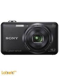 كاميرا سوني ديجيتال 16.2 ميجابكسل زوم 8x اسود WX60