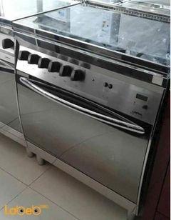 Lofra 5 burner gas & oven - 60x90cm - silver color - CG86GG