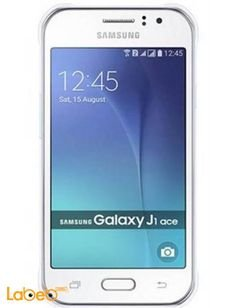 Samsung galaxy J1 ace smartphone - 4GB - 4.3 inch - white color