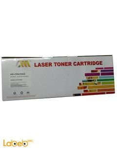 laser toner cartridge - black color - HR-CB435AC