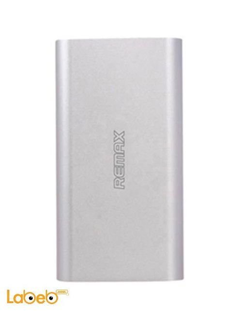 Remax Power Bank 10000mAh silver color Dual USB Charger