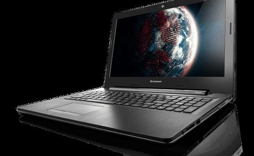 جانب لابتوب لينوفو 15.6 إنش 4GB رام اسود LN G50-80