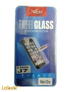 XSTAR Tempered glass screen protector - for Samsung J7