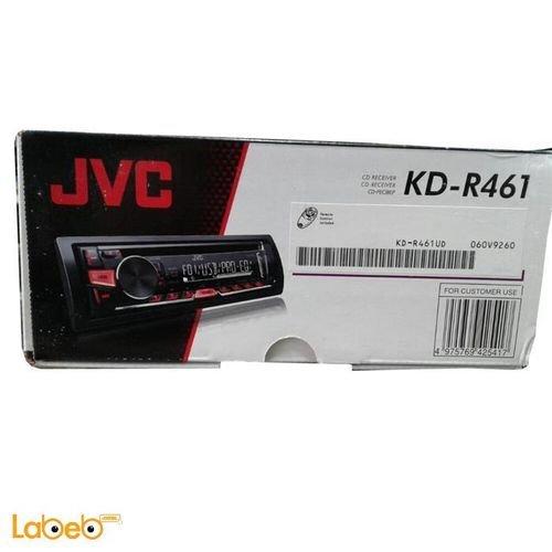 مسجل للسيارة جي في سي - مشغل أقراص CD ديسك - JVC KD-R461