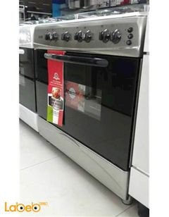 Klass 5 burner Gas Cooker with Oven - 60x90cm - silver - TG-6950