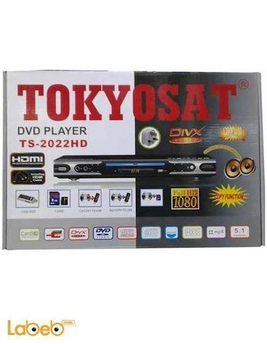 Tokyosat DVD player - SD card - USB - full hd 1080 - TS-2022HD