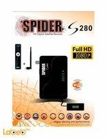 رسيفر سبايدر S280 HD واي فاي 6000 قناة