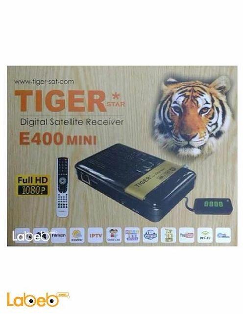 رسيفر تايجر E400 ميني اتش دي - 3G - USB - واي فاي - E400 mini HD