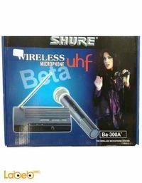 ميكرفون لاسلكي Shure beta تردد 40Hz -16KHz موديل BA 300A