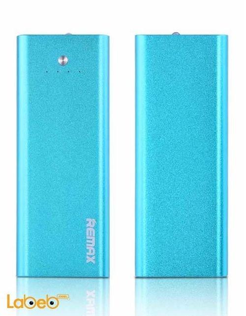 بطارية محمولة ريماكس 5500mAh مخرج USB ازرق RPP-23