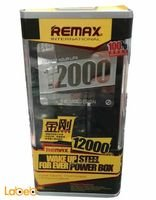 Remax Power bank 12000mAh Micro USB cable USB port Black