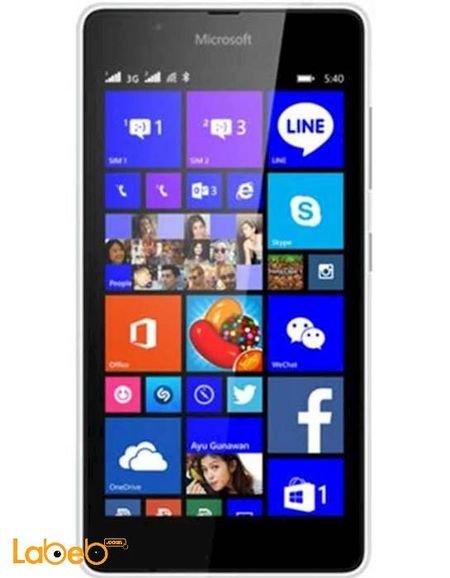 شاشة مايكروسوفت لوميا 540 أبيض