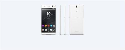 موبايل سوني اكسبيريا C5 اولترا دوال أبيض Sony C5