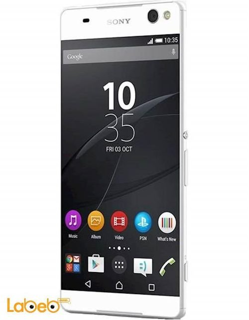 Sony Xperia C5 ultra dual smartphone screen