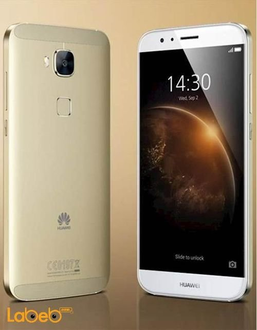 Gold Huawei G8 smartphone