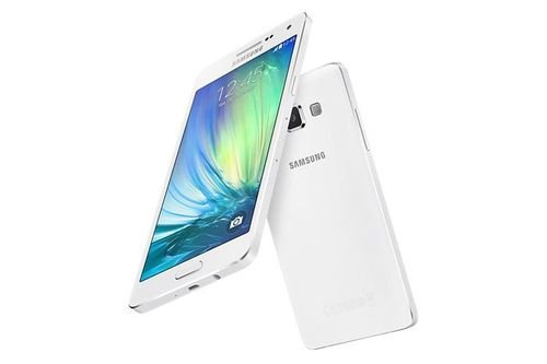 White Samsung Galaxy A5 screen and back