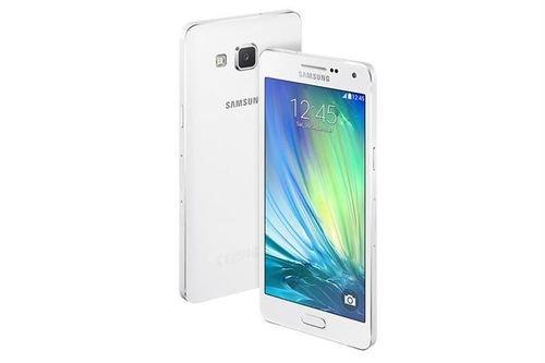 White Samsung Galaxy A5 smartphone 16GB SM A500F