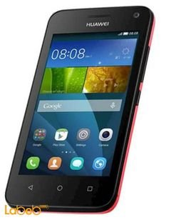 Huawei Y3C smartphone - 4GB - red color - 4 inch - Dual sim