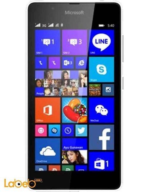 موبايل مايكروسوفت لوميا 540 دوال سيم 8 جيجابايت 5 انش اسود