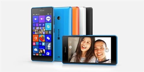 side Lumia 540 8GB Blue