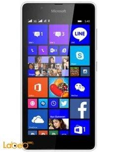 موبايل مايكروسوفت لوميا 540 دوال سيم - 8 جيجابايت - 5 انش - أزرق