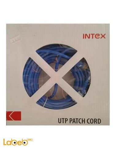 Intex Ethernet Cable - 20 meters - Blue - Model it-cab 20pac