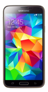 samsung galaxy S5 smartphone 16GB 5.1inch gold color