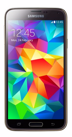 samsung galaxy S5 smartphone - 16GB - 5.1inch - gold color