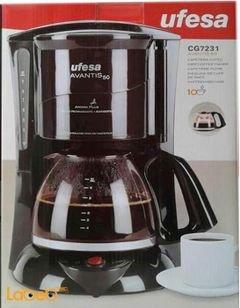 ماكنة قهوة افيسا - قدرة 800 واط - فلتر دائم - CG7231