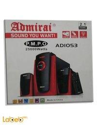 مكبر صوت admirai قدرة 25000 واط ADIO53