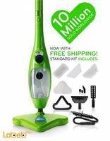 H2O Mop X5 5 in 1 Portable Steam Mop Multi Purpose green